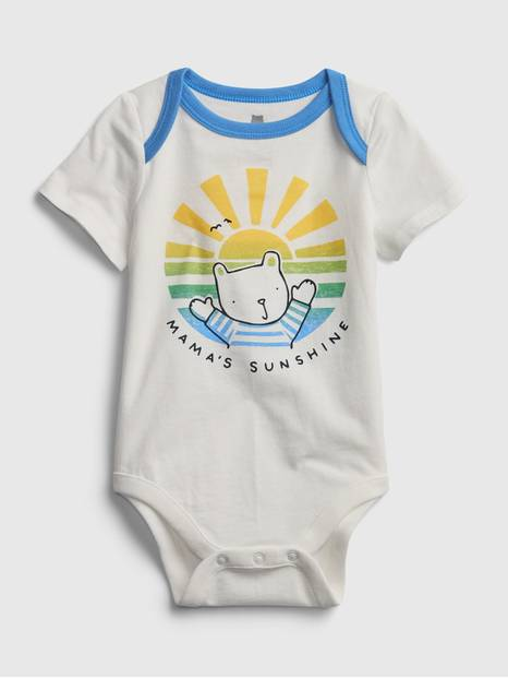 Baby Organic Mix and Match Bodysuit