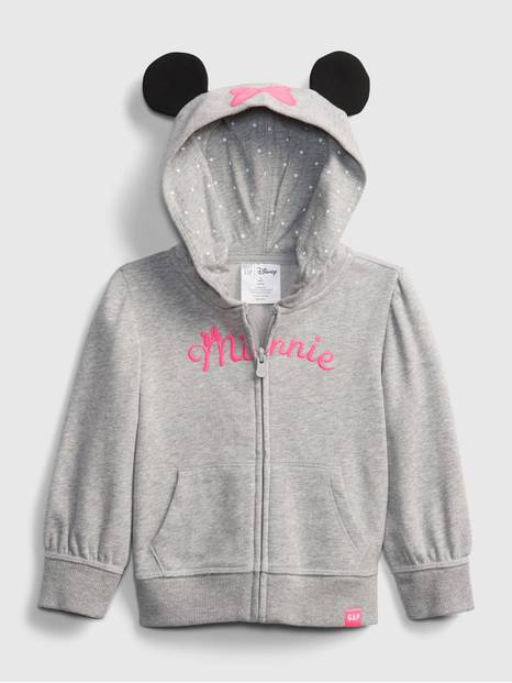 babyGap &#124 Disney Mickey Minnie Mouse Hoodie