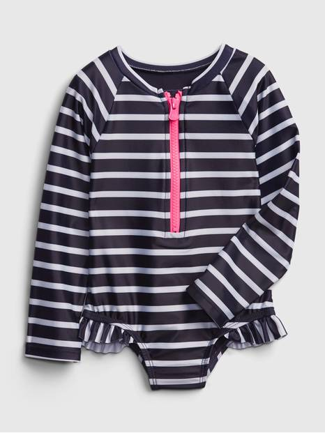 Toddler Swim One-Piece Rash Guard