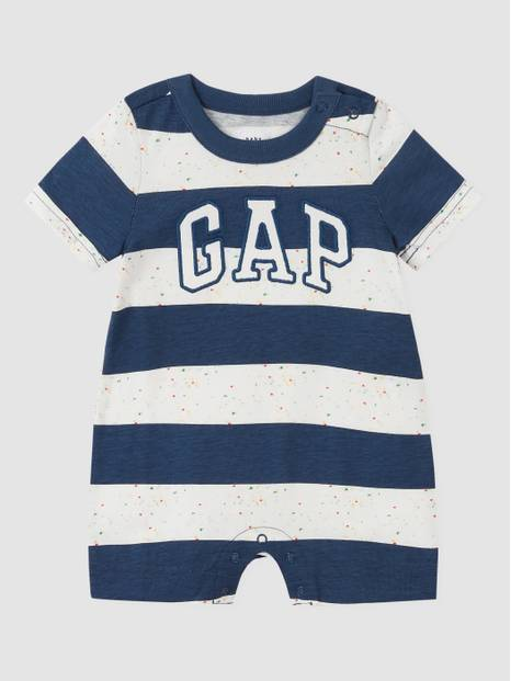 Baby Arch Logo Shorty One-Piece