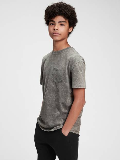 Teen Organic Cotton Pocket T-Shirt