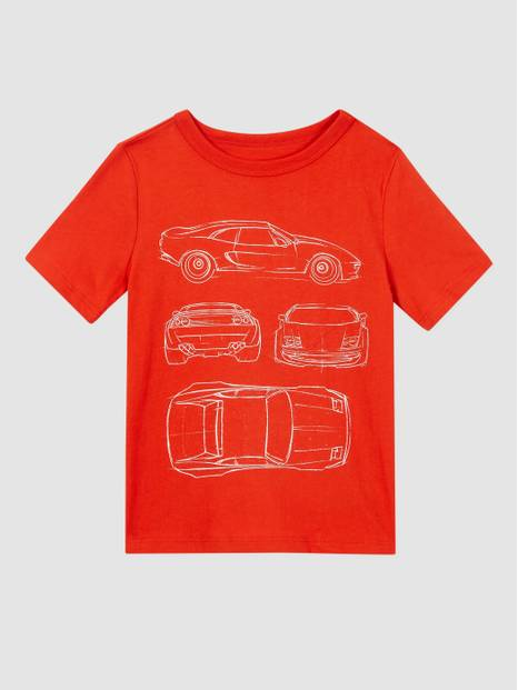 Kids Organic Cotton Graphic T-Shirt