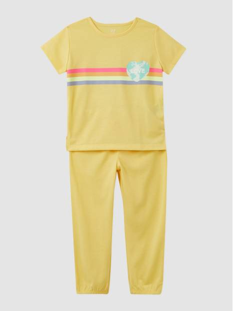 Kids Recycled Earth PJ Set