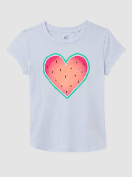 Kids 100% Organic Cotton Graphic T-Shirt