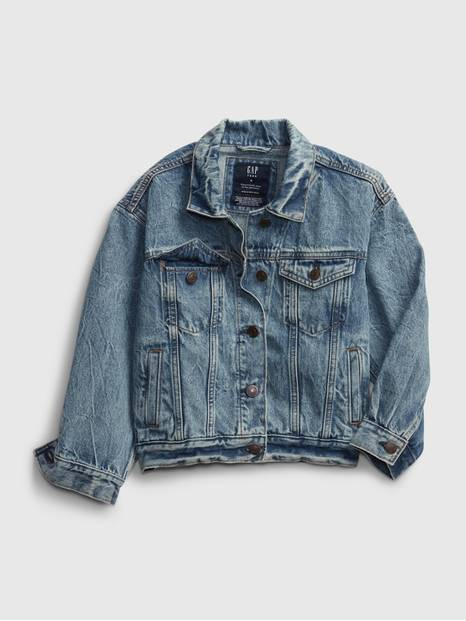 Teen Oversized Denim Jacket