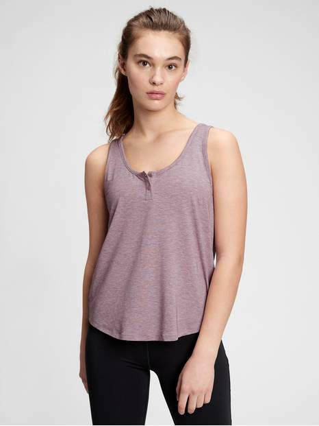BREATHE HENLEY TANK | 214278057