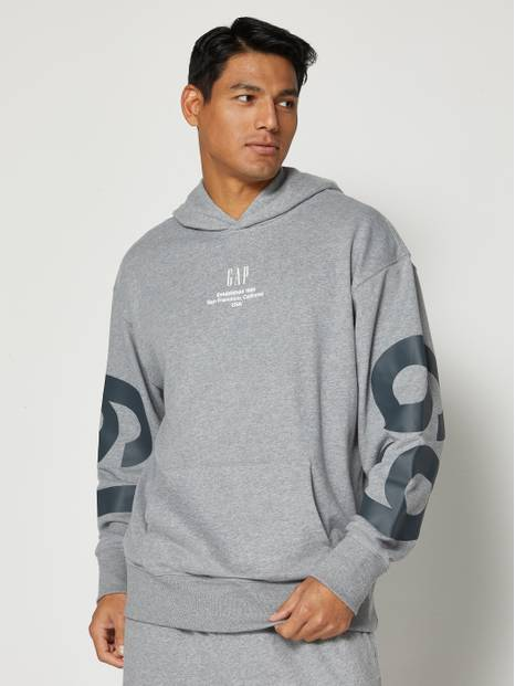 Exploded Logo Pullover Hoodie