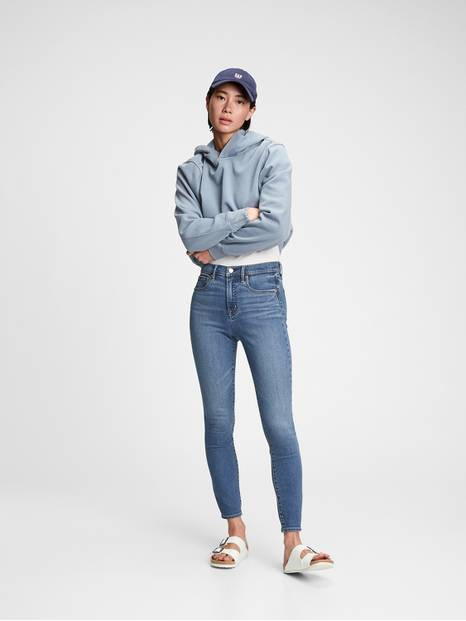 High Rise True Skinny Jeans with Secret Smoothing Pockets
