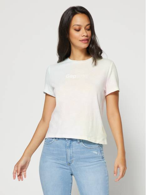 Gap Logo Shrunken T-Shirt