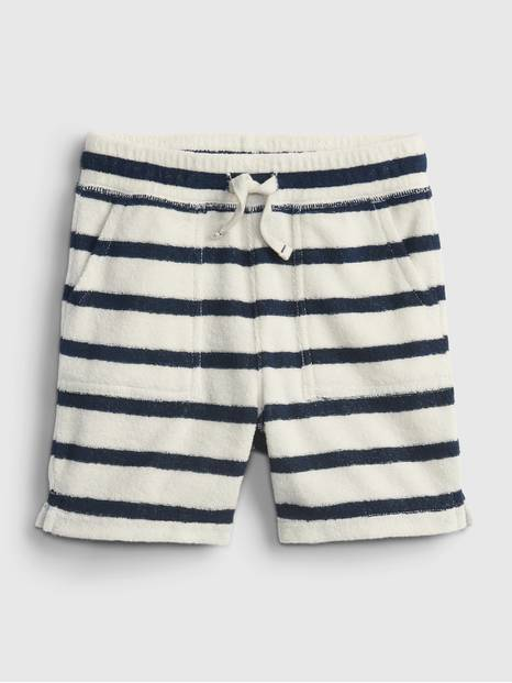Toddler Stripe Pull-On Shorts