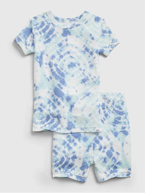babyGap Organic Cotton Tie-Dye PJ Set