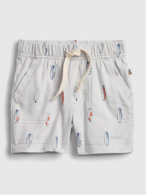 Baby 100% Organic Cotton Mix and Match Pull-On Shorts