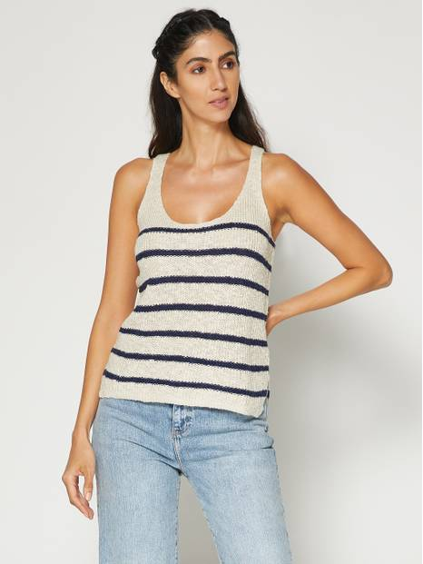 Scoopneck Tank Sweater