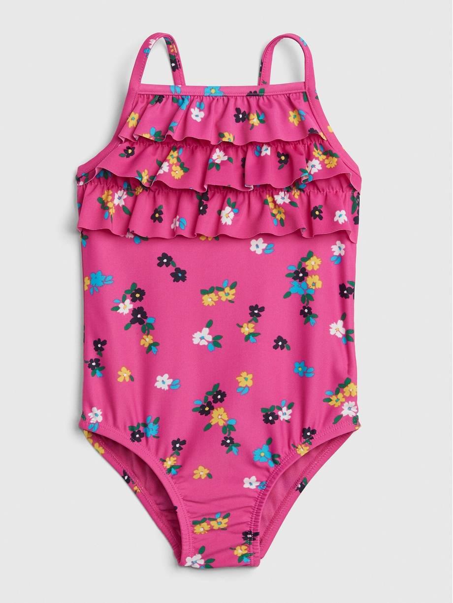 18-24m 5T 3T 2T Baby Gap Girls Floral Swimsuit 12-18m